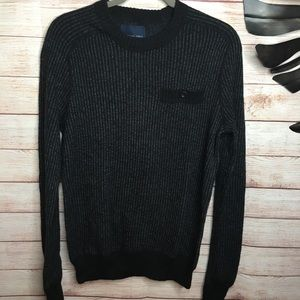 American Eagle knit crew pullover sweater …
